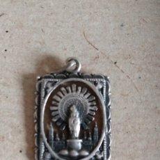 Antigüedades: MEDALLA VIRGEN DEL PILAR. Lote 183460676