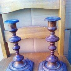 Antigüedades: CANDELABROS. Lote 183462222