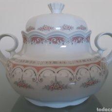 Antigüedades: SOPERA DE PORCELANA SANTA CLARA. Lote 183464217