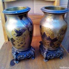 Antigüedades: JARRONES CHINOS. Lote 183470435