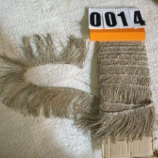 Antigüedades: ANTIGUO FLECO 310 CM HILO PLATA METAL 7 CM ANCHO . IDEAL VIRGEN SAYA SEMANA SANTA . Lote 183471093