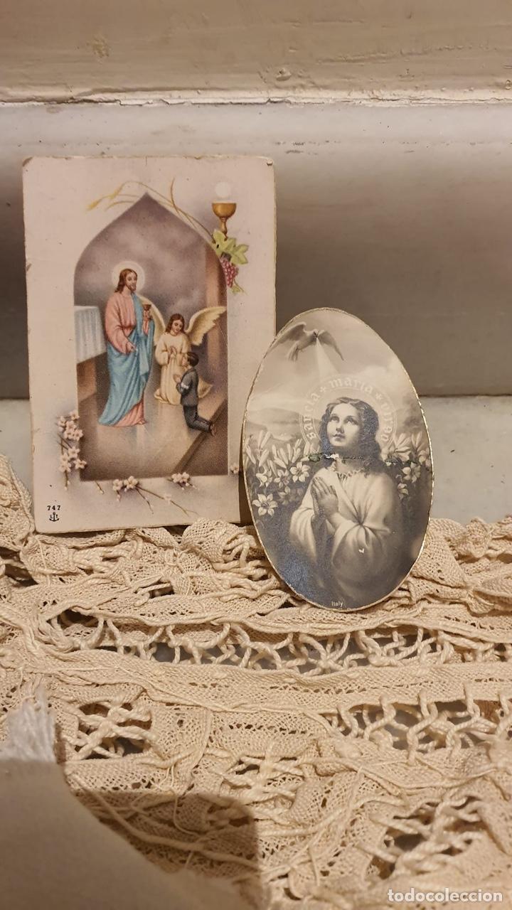 Antigüedades: Lote religióso, todo lo que se ve en las fotografías - Foto 2 - 183475253