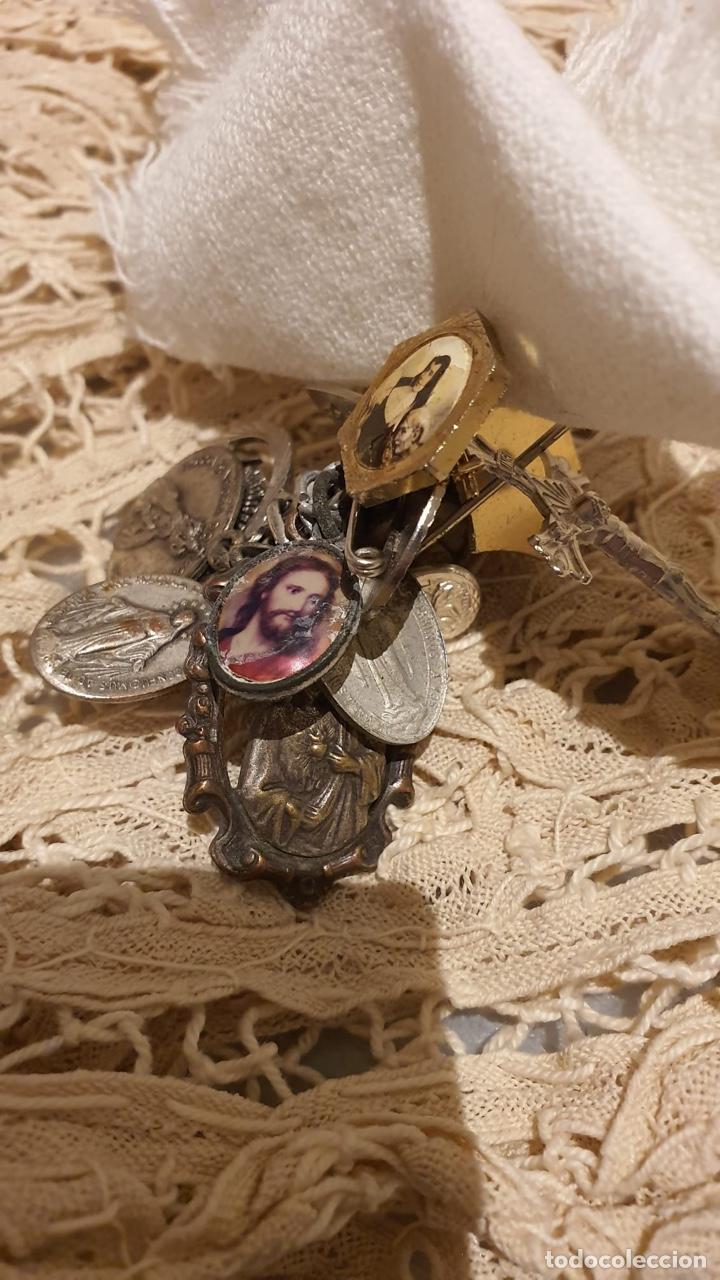 Antigüedades: Lote religióso, todo lo que se ve en las fotografías - Foto 4 - 183475253