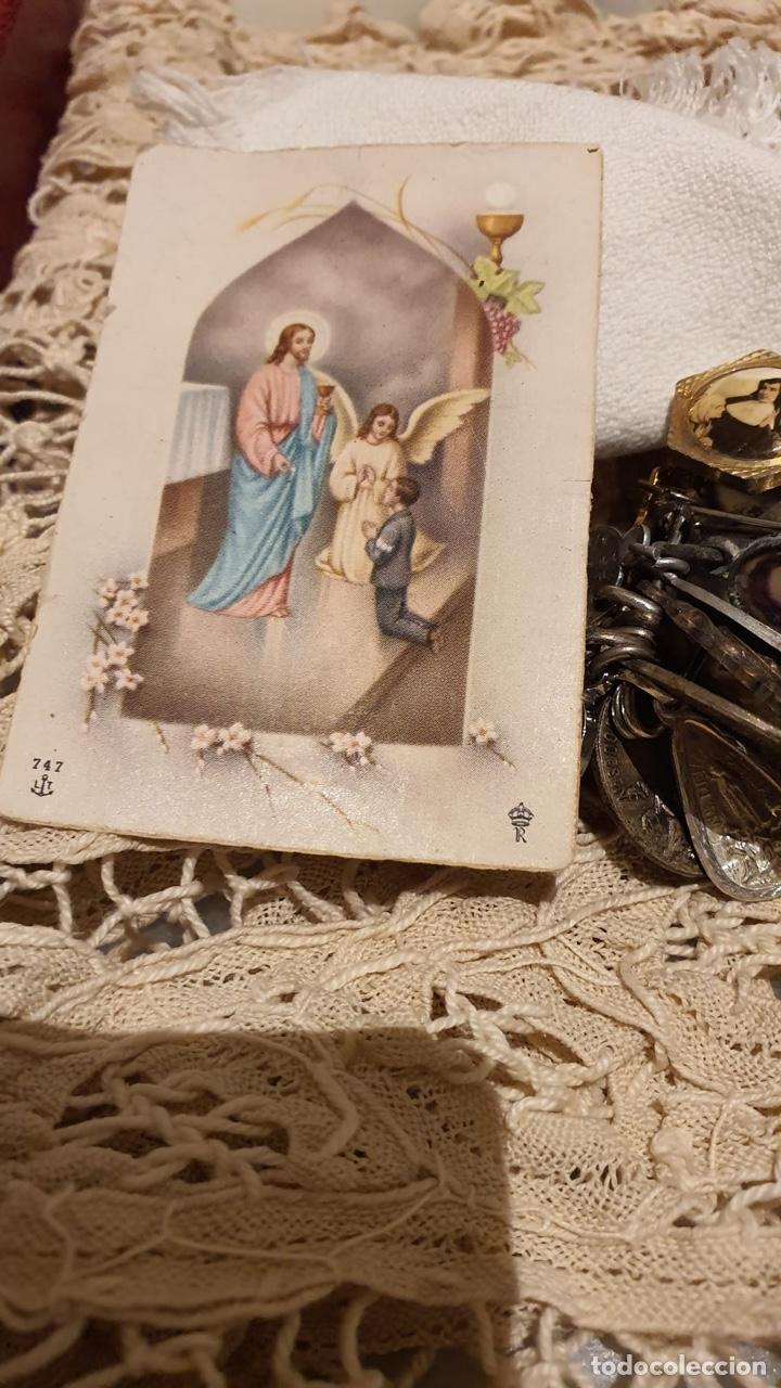 Antigüedades: Lote religióso, todo lo que se ve en las fotografías - Foto 7 - 183475253