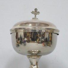 Antigüedades: ANTIGUO COPON DE METAL PLATEADO. FINALES SIGLO XIX. Lote 183481730