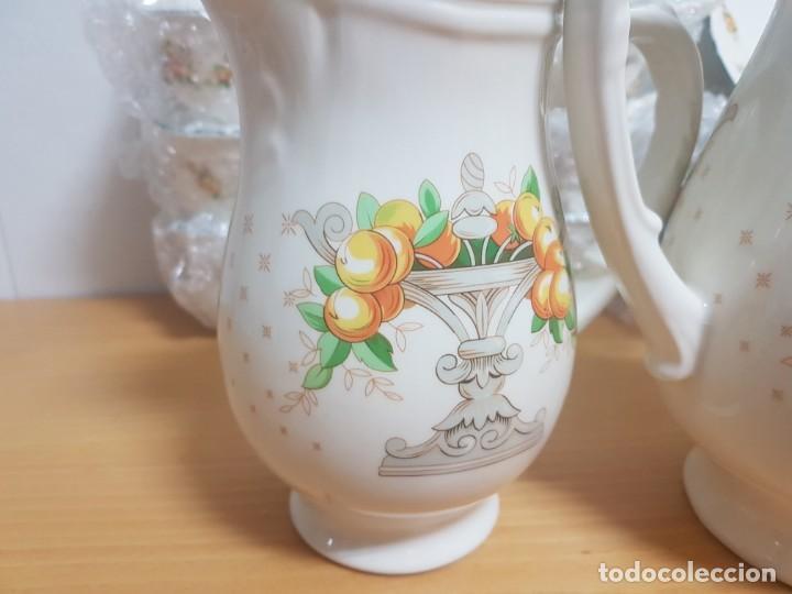 Antigüedades: JUEGO DE CAFE - SAN CLAUDIO - MODELO PROVENZAL - SIN ESTRENAR!!!!! - Foto 6 - 183492431