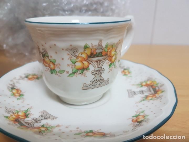Antigüedades: JUEGO DE CAFE - SAN CLAUDIO - MODELO PROVENZAL - SIN ESTRENAR!!!!! - Foto 8 - 183492431