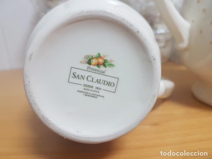 Antigüedades: JUEGO DE CAFE - SAN CLAUDIO - MODELO PROVENZAL - SIN ESTRENAR!!!!! - Foto 10 - 183492431