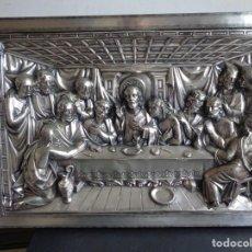 Antigüedades: CUADRO EN VOLUMEN DE LA ULTIMA CENA. Lote 183494060