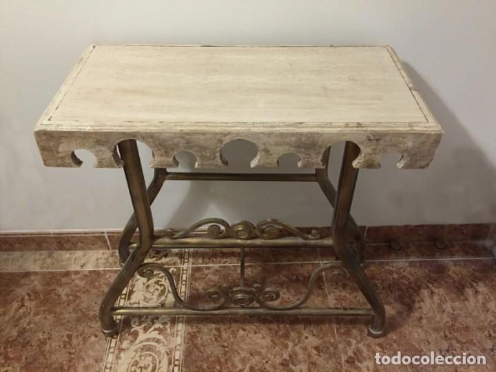 Antigüedades: Mesa auxiliar rústica - Foto 2 - 183501156