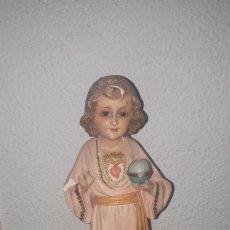 Antigüedades: PRECIOSA TALLA PARA RESTAURAR NIÑO DE OLOT. Lote 183508975