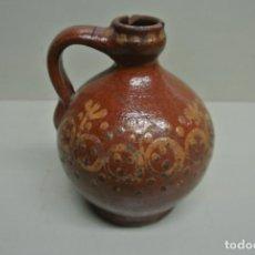 Antigüedades: ANTIGUA ACEITERA, VASIJA PARA ACEITE. CERÁMICA POPULAR CATALÁNA. Lote 183526742