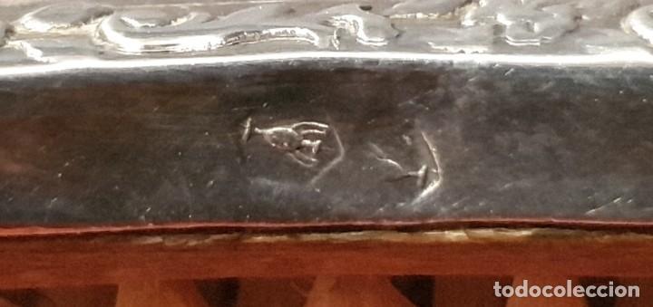 Antigüedades: JUEGO DE TOCADOR EN PLATA CENTENARIO - Foto 11 - 183528043