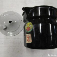 Antigüedades: COCINA - ANTIGUO HERVIDOR LECHE, ESMALTADO SIN USO, ANTERIOR 1935 - ' EGSA ' RENTERIA 2.5 L + INFO. Lote 206878881