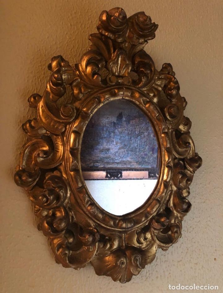 Antigüedades: Pareja Cornucopias Doradas Antigüedades - Foto 2 - 183569413