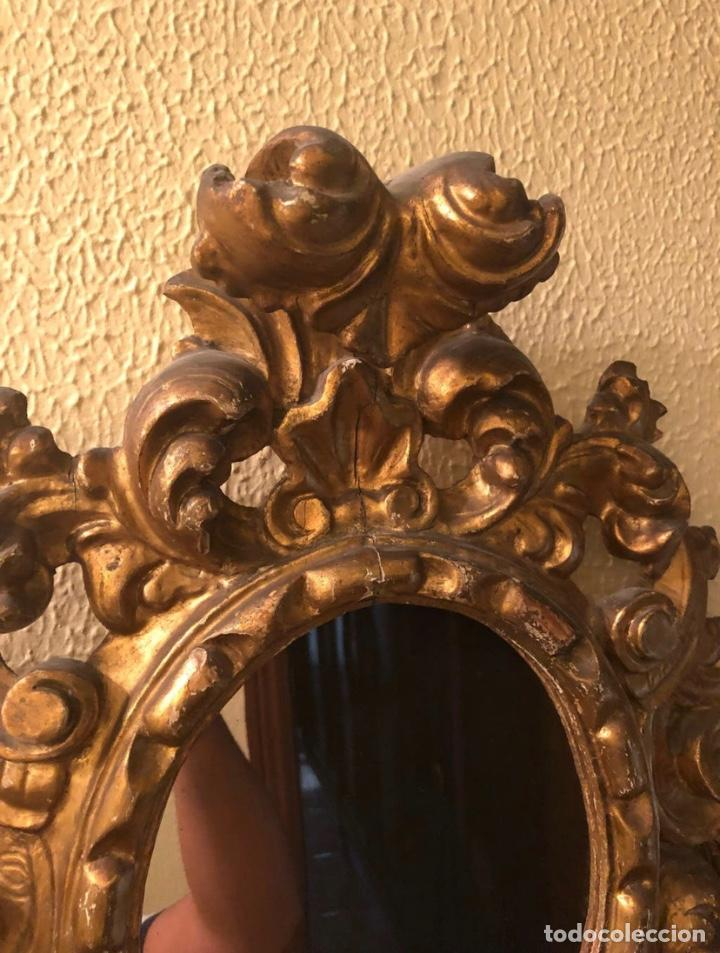 Antigüedades: Pareja Cornucopias Doradas Antigüedades - Foto 4 - 183569413