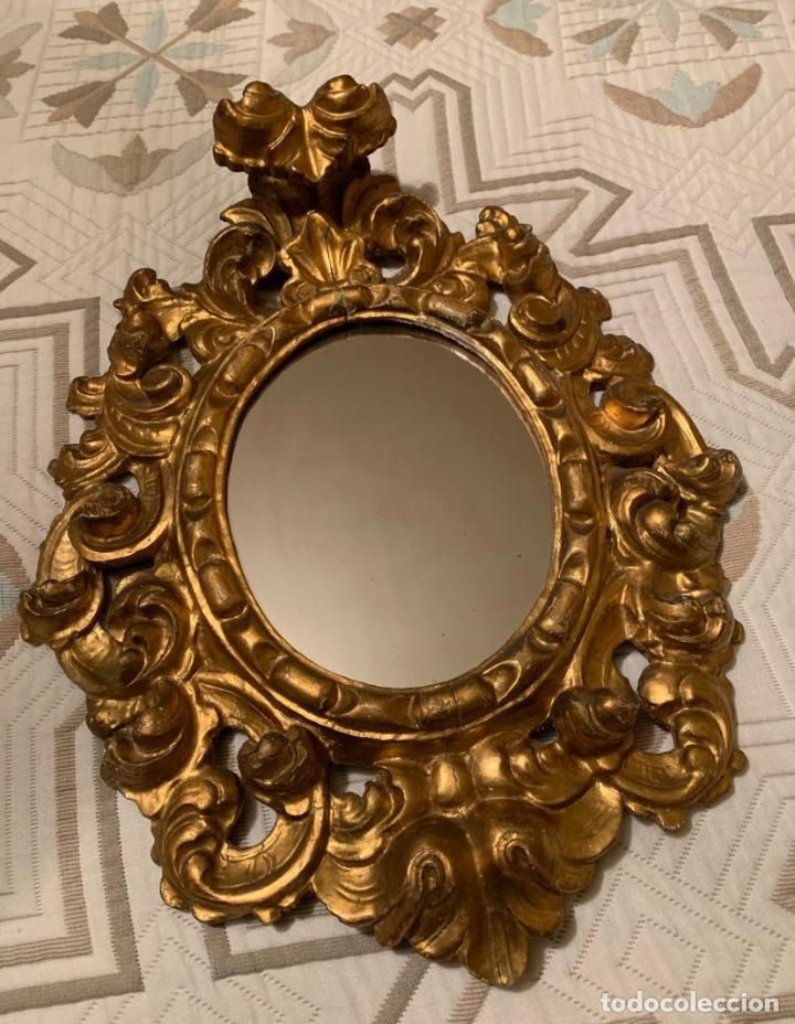 Antigüedades: Pareja Cornucopias Doradas Antigüedades - Foto 5 - 183569413