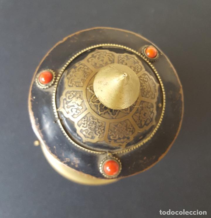 Antigüedades: Rueda de oración tibetana - Foto 3 - 183570345