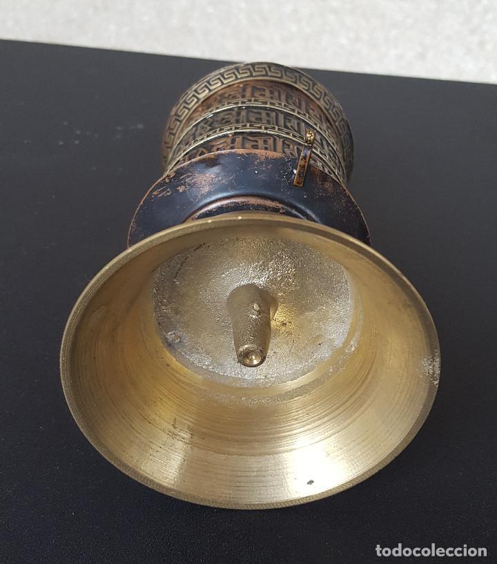 Antigüedades: Rueda de oración tibetana - Foto 4 - 183570345