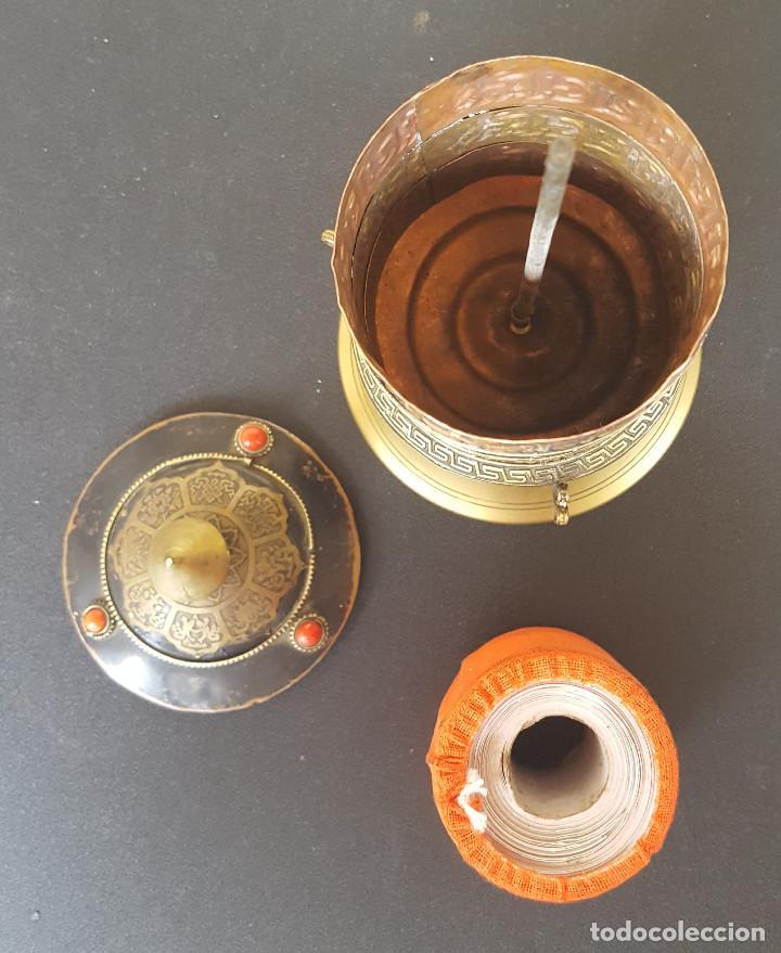 Antigüedades: Rueda de oración tibetana - Foto 5 - 183570345