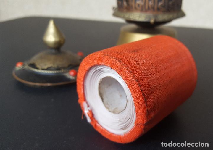 Antigüedades: Rueda de oración tibetana - Foto 7 - 183570345