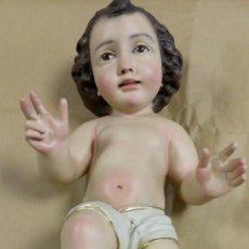 Antigüedades: PRECIOSO NIÑO JESÚS ANTIGUO DE OLOT. Lote 183586715