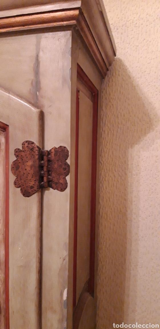 Antigüedades: ANTIGUO ARMARIO PERCHERO PARA RECIBIDOR - Foto 3 - 183588666