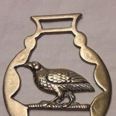 Antigüedades: ANTIGUO ADORNO BRONCE CABALLERÍA F. VALENTI Nº 16. Lote 183589302