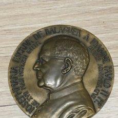 Antigüedades: GRAN MEDALLA BRONCE ESCRIVA DE BALAGUER ( 6 CM DIÁMETRO). MARCA LORIOLI. Lote 183589720