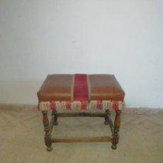 Antigüedades: BANQUETA MUY ANTIGUA. Lote 183604592