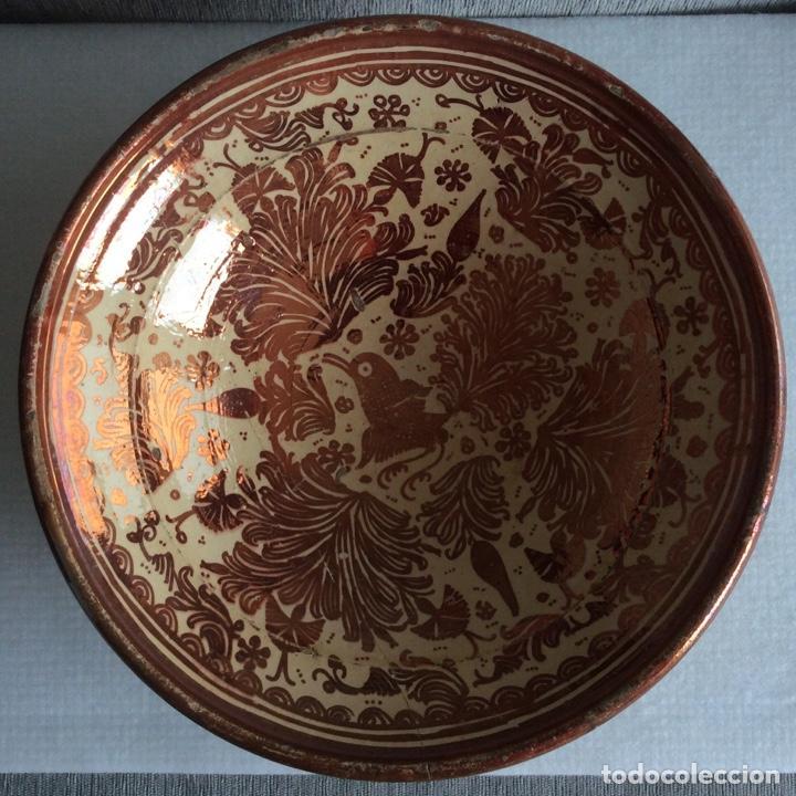 MANISES SIGLO XVIII REFLEJO METÁLICO O LUSTRE (Antigüedades - Porcelanas y Cerámicas - Manises)