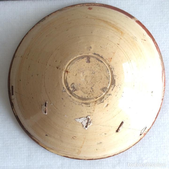 Antigüedades: Manises siglo XVIII Reflejo metálico o lustre - Foto 3 - 183618191