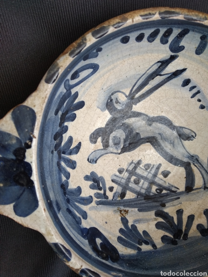 Antigüedades: ESCUDILLA LIEBRE. SERIE FAIXES I CINTES. SIGLO XVIII - Foto 2 - 183619106