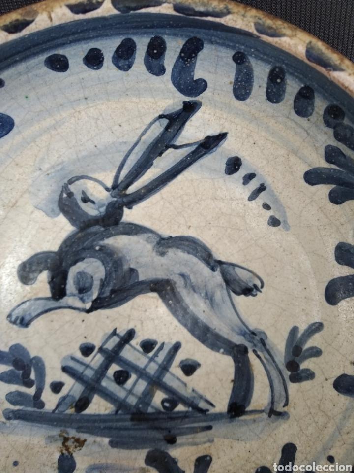 Antigüedades: ESCUDILLA LIEBRE. SERIE FAIXES I CINTES. SIGLO XVIII - Foto 3 - 183619106