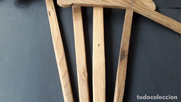 Antigüedades: Antiguas perchas de madera - Foto 5 - 183619117