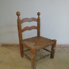 Antigüedades: SILLA ENEA MUY ANTIGUA. Lote 183627833