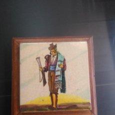 Antigüedades: TRIANA , ANTIGUO Y MAGNÍFICO AZULEJO ENMARCADO RAMOS REJANO. Lote 183642910