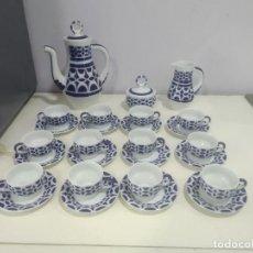 Antigüedades: SARGADELOS JUEGO DE CAFE MUCHAS PIEZAS . Lote 183655768