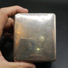 Antigüedades: COFRE EN PLATA Y MADERA. Lote 183656023