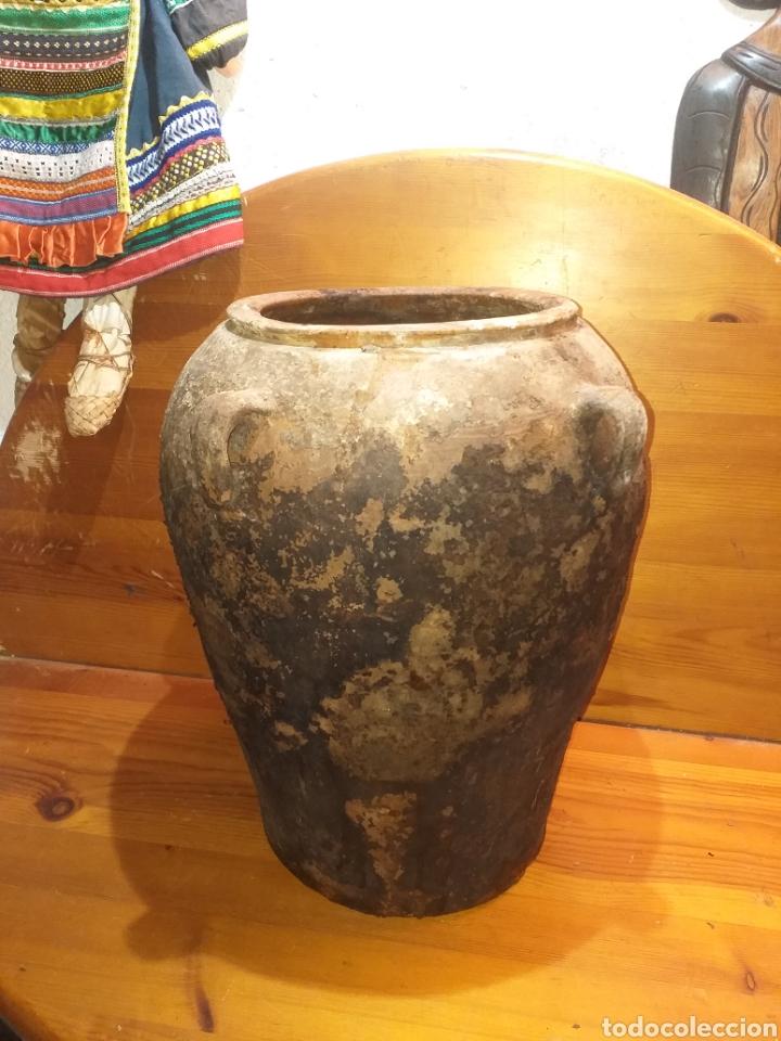 ALFARERÍA TINAJA DE 4 HAZAS 45 CM (Antigüedades - Porcelanas y Cerámicas - Catalana)