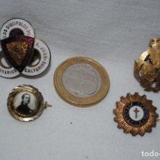 Antigüedades: INSGNIA DE DISCIPULOS DE SAN JUAN ,Y OTRAS .. Lote 183673202