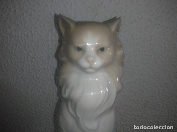 Antigüedades: Precioso gato persa angora nao de lladro - Foto 2 - 183675537
