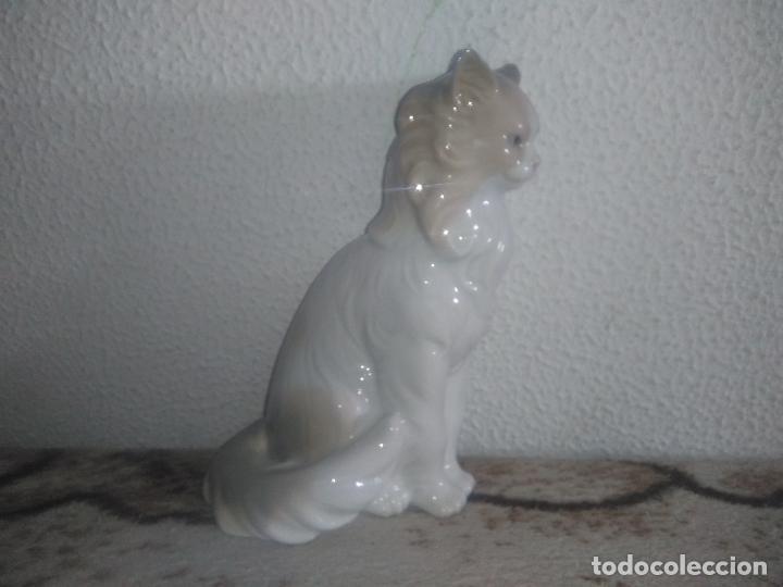 Antigüedades: Precioso gato persa angora nao de lladro - Foto 4 - 183675537
