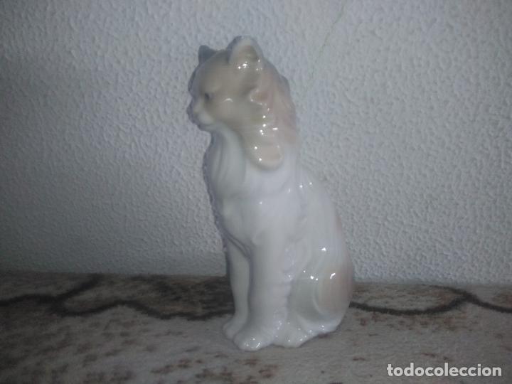 Antigüedades: Precioso gato persa angora nao de lladro - Foto 11 - 183675537