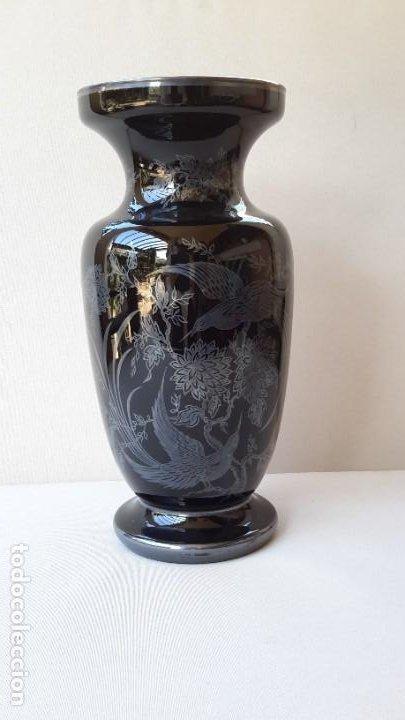 Antigüedades: Jarrón de porcelana y plata - Foto 4 - 183675718