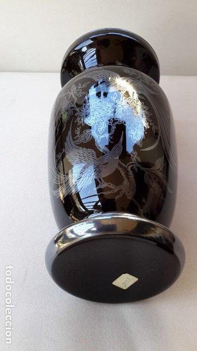 Antigüedades: Jarrón de porcelana y plata - Foto 7 - 183675718