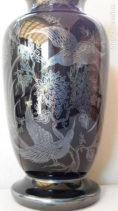 Antigüedades: Jarrón de porcelana y plata - Foto 11 - 183675718