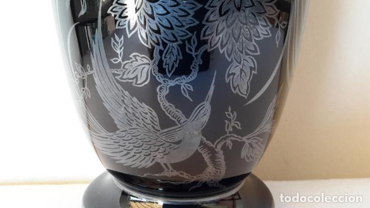 Antigüedades: Jarrón de porcelana y plata - Foto 12 - 183675718
