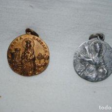 Antigüedades: MEDALLAS DE SANTA BARBARA .. Lote 183676945