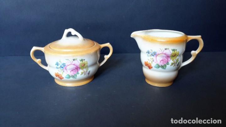Antigüedades: Jarrita para leche y azucarero - Foto 8 - 183680381